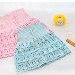 Örgü Bebek Elbiseleri Tığ İşi 7