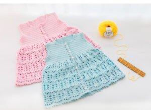 Örgü Bebek Elbiseleri Tığ İşi