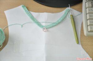 Örgü Elbise Yapımı 8