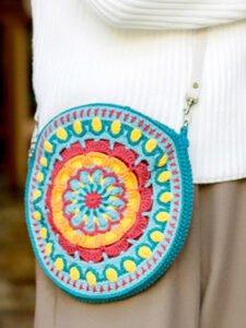 Örgü Mandala Çanta Yapımı
