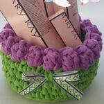 Penye İp Sepet Modelleri ve Şemaları 10