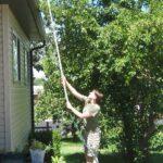 Plastik Borularla Bahçe Dekorasyon Fikirleri 13