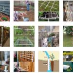 Plastik Borularla Bahçe Dekorasyon Fikirleri 23