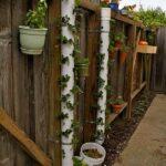 Plastik Borularla Bahçe Dekorasyon Fikirleri 4
