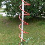 Plastik Borularla Bahçe Dekorasyon Fikirleri 7
