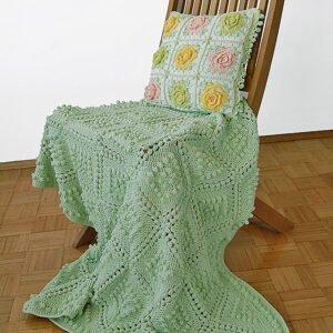 Vintage Bebek Battaniyesi Yapılışı 9