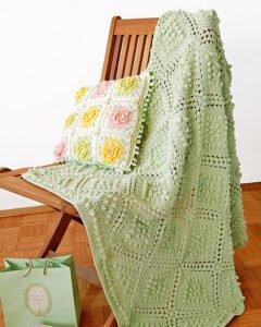 Vintage Bebek Battaniyesi Yapılışı 10