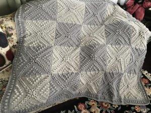 Vintage Bebek Battaniyesi Yapılışı 1
