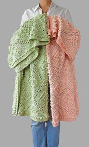 Vintage Bebek Battaniyesi Yapılışı