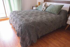 Vintage Bebek Battaniyesi Yapılışı 8