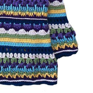 Bebek Battaniyesi Yapılışı Tığ İşi 5