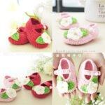 Bebek Örgü Patik Modelleri Anlatımlı 11