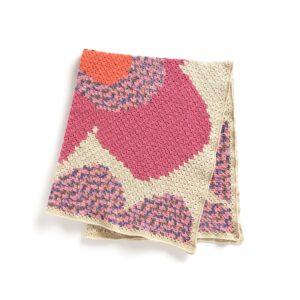 Köşeden Köşeye Çiçekli Battaniye Yapılışı 2