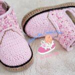 Örgü Bebek Ayakkabı Yapımı