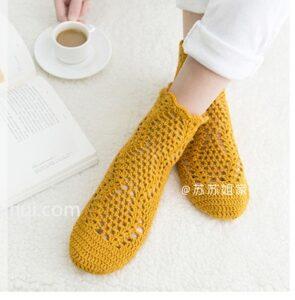 Örgü Çorap Nasıl Yapılır? 5