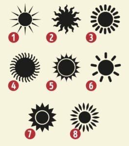 Seçtiğiniz Güneş Size Kişiliğinizin Gizli Özelliklerini Gösterecek 1