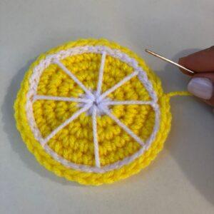 Amigurumi Limon Tarifi 9