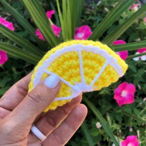 Amigurumi Limon Tarifi 11