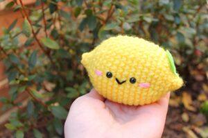 Amigurumi Limon Tarifi 1