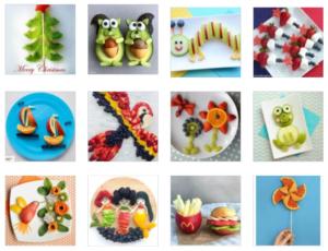 Çocuklar için Meyve Tabağı