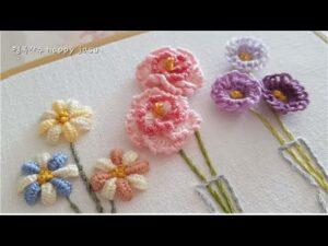 El Nakışı Çiçek Modelleri Yapılışı 1