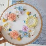 El Nakışı Çiçek Modelleri Yapılışı 4