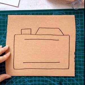 Kartondan Fotoğraf Makinesi Yapımı 1