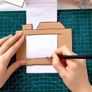 Kartondan Fotoğraf Makinesi Yapımı 2