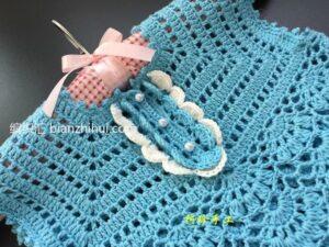Örgü Bebek Elbise Modeli Yapımı 15