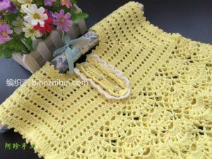 Örgü Bebek Elbise Modeli Yapımı 25