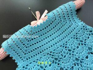 Örgü Bebek Elbise Modeli Yapımı 29