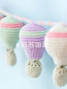 Amigurumi Uçan Balon Tarifi