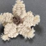 Makrome Çiçek Modeli Yapılışı