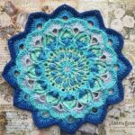 Tavus Kuşu Tüyü Mandala Yapımı 24