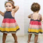 Tığ İşi Bebek Elbisesi Modelleri ve Yapılışları 12