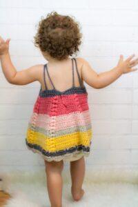Tığ İşi Bebek Elbisesi Modelleri ve Yapılışları 8