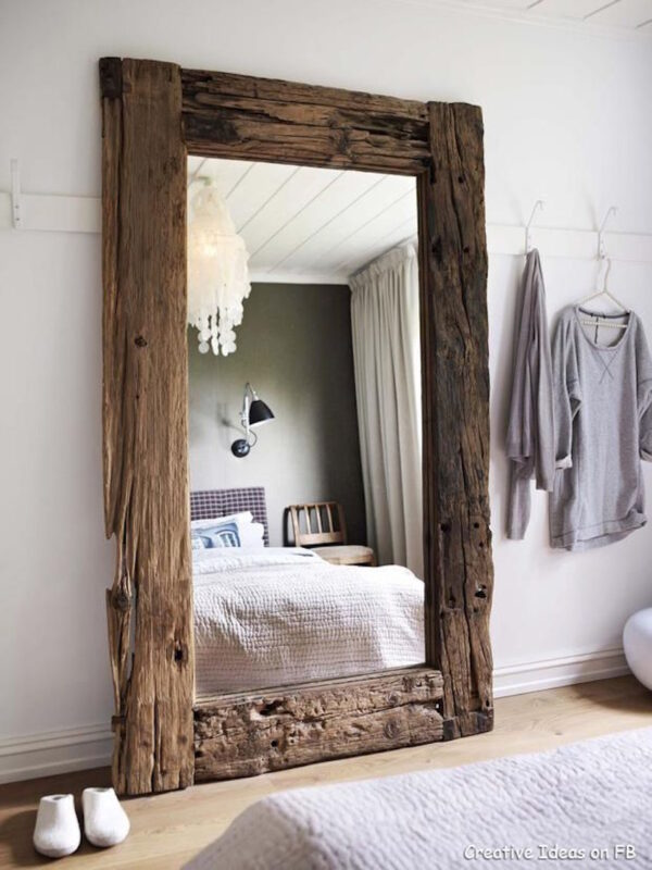 Yatak Odalarına Özel Dekoratif Ayna Modelleri 8