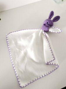 Amigurumi Uyku Arkadaşı Battaniye Yapımı 30