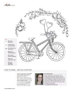 Kanaviçe Bisiklet Yapımı 12