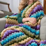 Tığ İşi Bebek Battaniye Modelleri ve Yapılışları 6