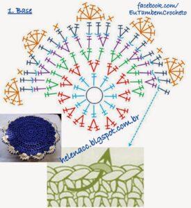 Penye İple Tabanlıklı Sepet Yapılışı 6