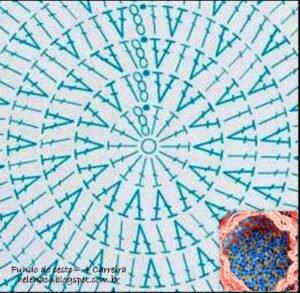 Penye İpten Fileli Sepet Nasıl Örülür? 1