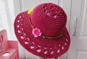 Yazlık Örgü Şapka Yapımı