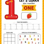 1 Rakamı Etkinlikleri Okul Öncesi 34