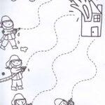 Çizgi Çalışması Etkinlikleri Okul Öncesi 24