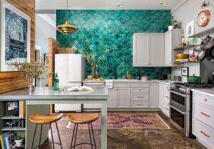 Mutfaklara Canlılık ve Renk Katacak Dekorasyon Fikirleri 5