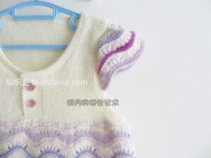 Bebek Örgü Elbise Modelleri ve Yapılışları 10