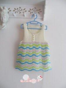 Bebek Örgü Elbise Modelleri ve Yapılışları 17