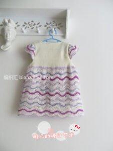 Bebek Örgü Elbise Modelleri ve Yapılışları 23