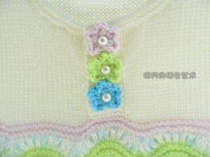 Bebek Örgü Elbise Modelleri ve Yapılışları 24